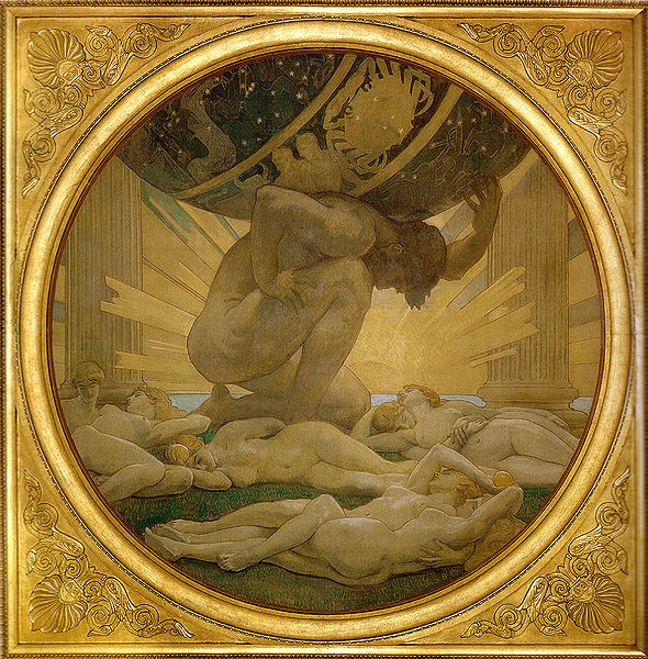 Singer Sargent, John - Atlas and the Hesperides