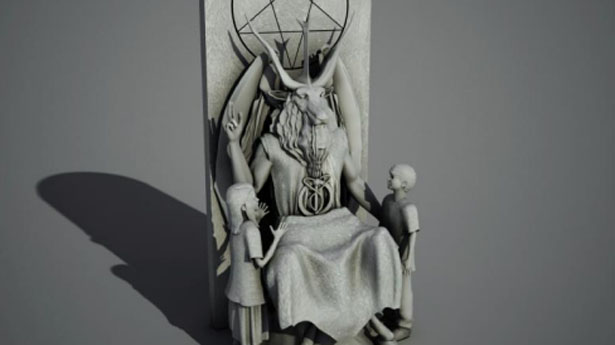 Even Baphomet loves the little children!
