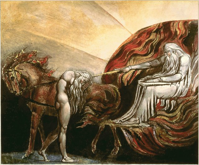"""God Judging Adam"" by William Blake"